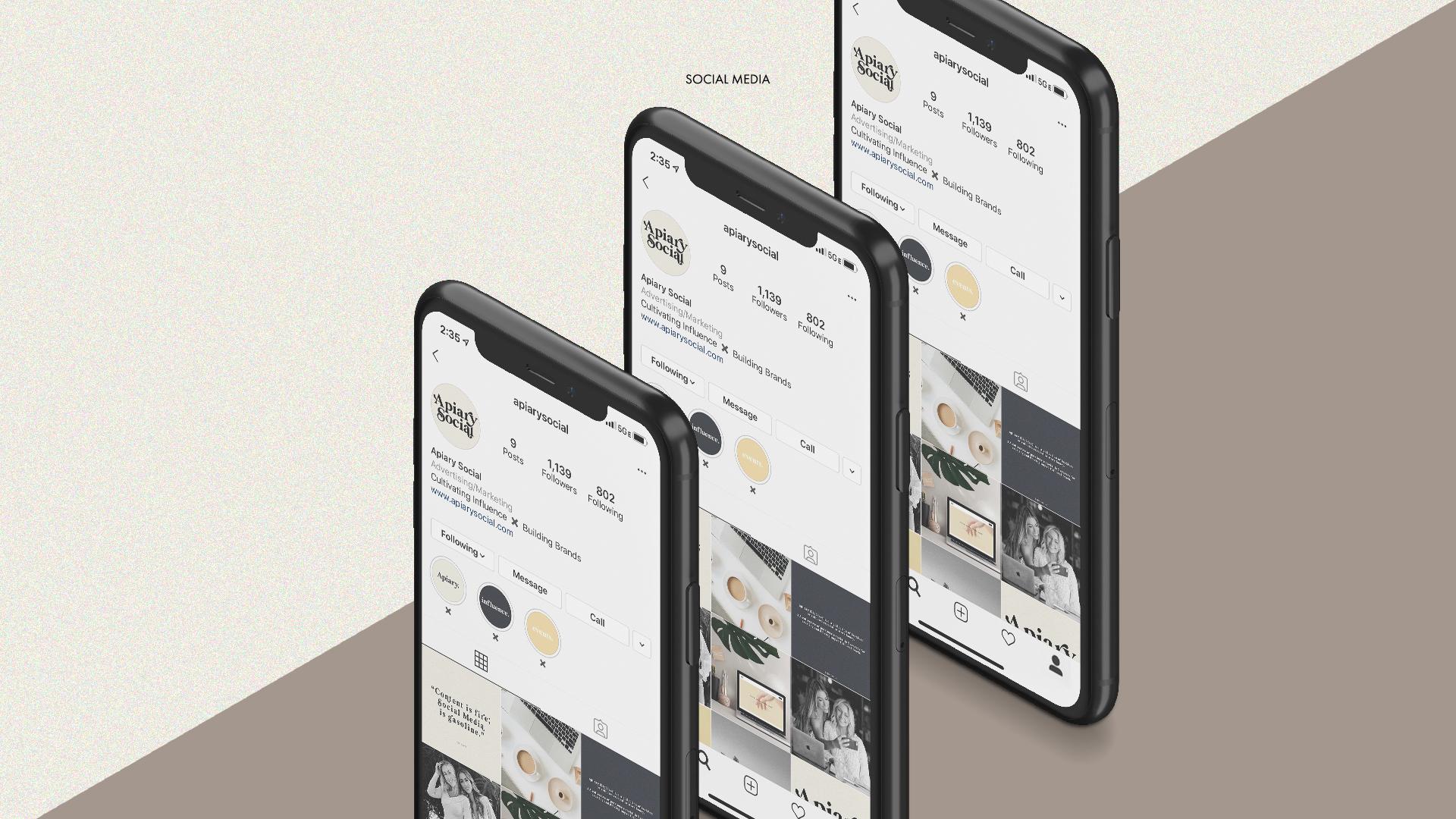 ANONM Website APIARY_Socialmedia_blk_phones